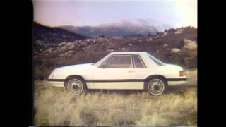 1979 Ford Mustang TV Ad Commercial 3 of 3