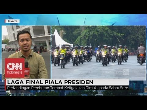 Jokowi Hadiri Final Piala Presiden Persija vs Bali United, Pengamanan Diperketat