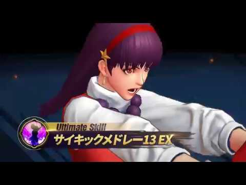 The King Of Fighters All Star Athena Asamiya Combo Skill Gameplay