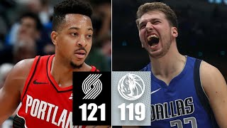 CJ McCollum outduels Luka Doncic with 35 points in the Trail Blazers' win | 2019-20 NBA Highlights