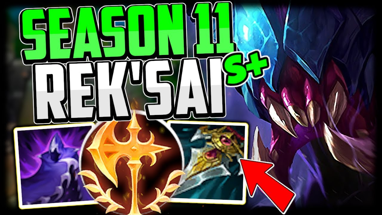 How to Play Rek'Sai & CARRY! + Best Build/Runes | Rek'Sai Jungle Guide Season 11 - League of Legends