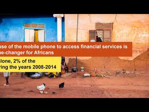 Sharone Perlstein - Mobile-based Financial Services are Lifting Africans out of Poverty