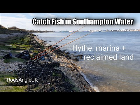 Catch Fish In Southampton Water: HYTHE MARINA + RECLAIMED LAND