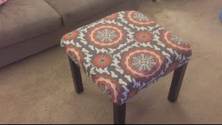 How to Make a Custom Ottoman for Under 15
