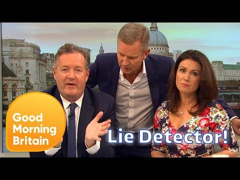 Jeremy Kyle Tries to Repair Piers and Susanna's Working Relationship | Good Morning Britain