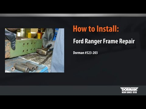 Frame Repair Kit Installation