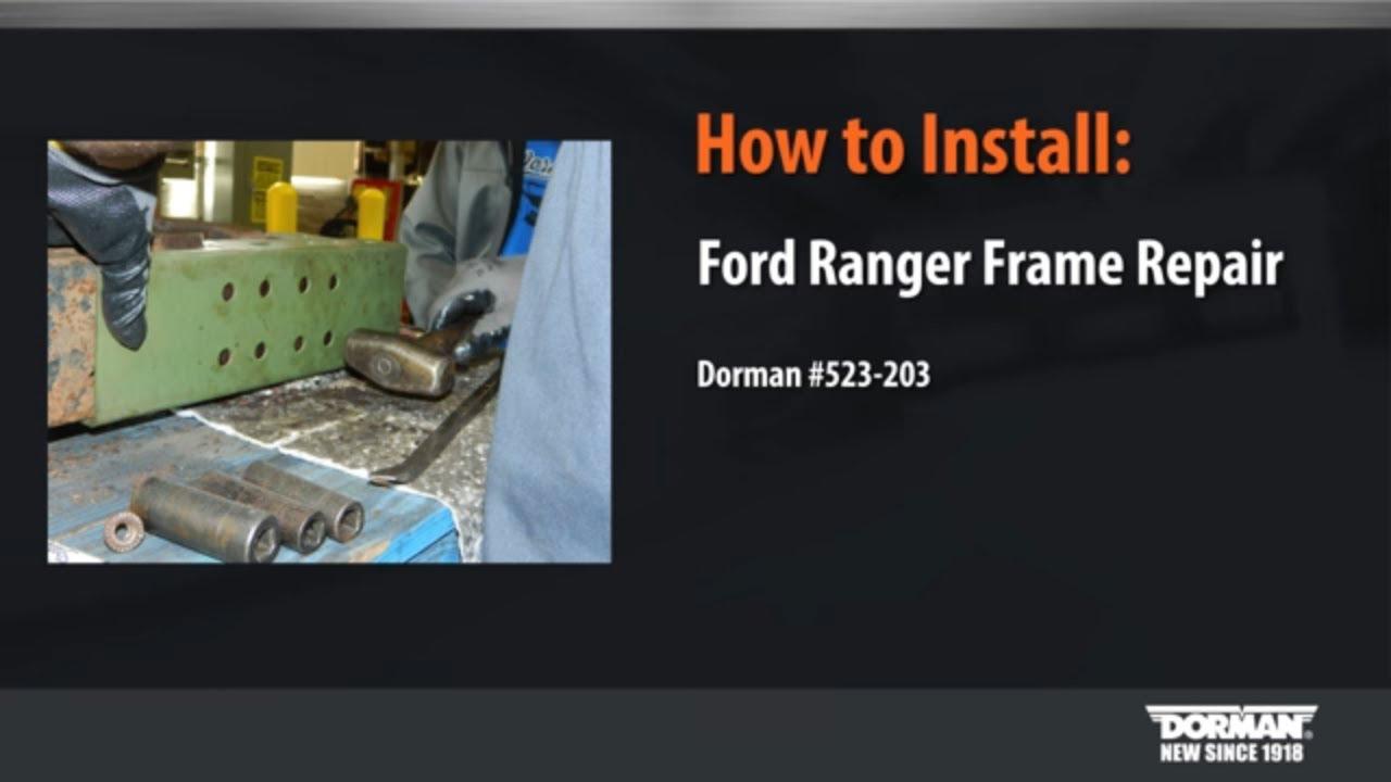 Frame Repair Kit Installation
