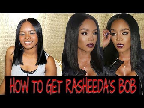 How to get : Rasheeda from love and Hip Hop bob
