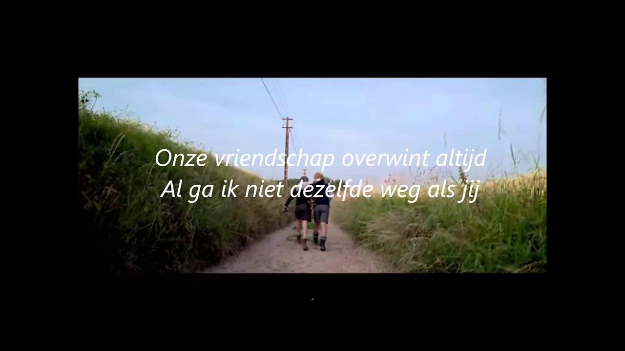 Alain Clark Onze Vriendschap Lyrics