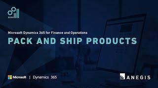 Microsoft Dynamics 365 für Finanzen und Operationen: Verpacken und Versenden von Produkten