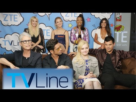 Scream Queens Interview | TVLine Studio Presented by ZTE | Comic-Con 2016