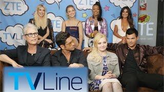 Scream Queens Interview | TVLine Studio Presented by ZTE | Comic-Con 2016