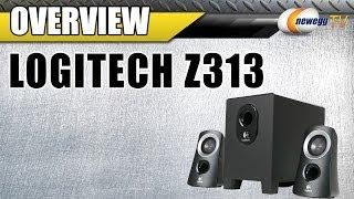 Logitech Z313 25 w 2.1 Speaker System Overview - Newegg TV