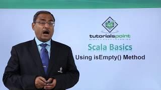 Scala - Using isEmpty() Method