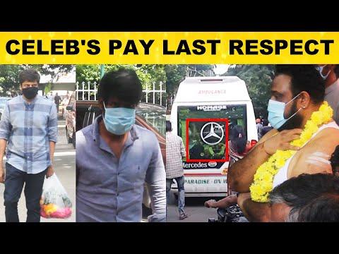 Siruthai Siva's Father Funeral Video | பிரபலங்கள் இறுதி அஞ்சலி | | Jeyakumar | Mohan Raja | Soori