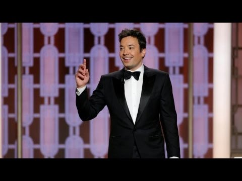 Thumbnail: Golden Globes 2017: Host Jimmy Fallon gets off to a shaky start