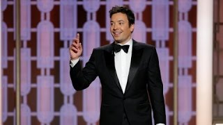 Golden Globes 2017: Host Jimmy Fallon Gets Off To A Shaky Start