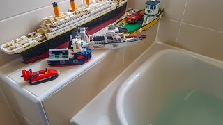 DO LEGO BOATS FLOAT ???