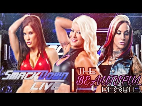 WWE 2K18 | THE BEAUTIFUL PEOPLE MAKE THERE IMPACT