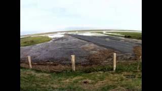 Grande marée à La Vanlée