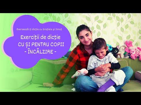 Exercitii de dictie pentru copii - Litera C. Exerseaza-ti dictia cu Gratiela si Ionut from YouTube · Duration:  3 minutes 23 seconds
