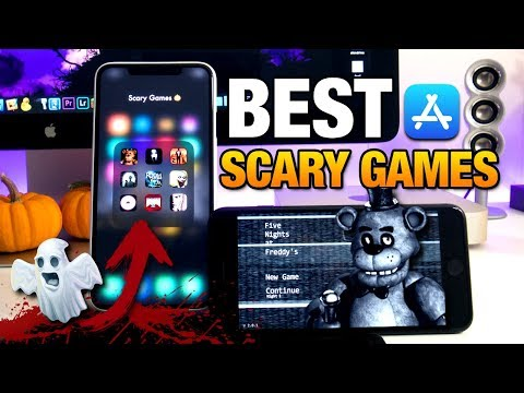 Top 10 Best SCARY GAMES For IPhone From The APP STORE - HALLOWEEN 2019 GAMES