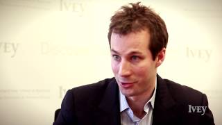 Thumbnail Ivey | 60 Second Entrepreneur: Eric Brass - Competitive Edge
