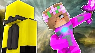 PINK RANGER ENHANCES HER POWERS! Minecraft Power Rangers w/LittleKelly