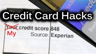 My Credit Score: 848 - Credit Card Hacks and How I got it.(Going over some basic tips on how to get a high credit score. But once you get a high credit score, what do you do with it? You take advantage of it to get all the ..., 2014-08-23T15:00:01.000Z)