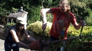 How to re pot a 6ft tall and awkward Cactus -Brasiliopuntia Brasiliensis