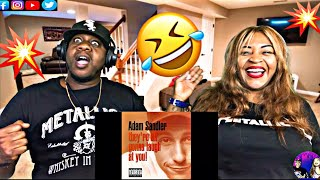 """This Is The Wildest Song We've Ever Heard! Adam Sandler """"At A Medium Pace"""" (Reaction)"""