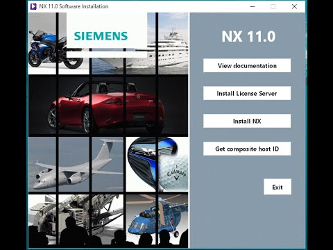 Siemens NX11 Installation| Windows7| Windows8.1| Windows10 |64Bit