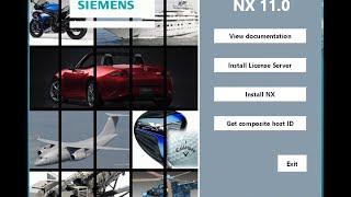 Siemens NX11 Installation| Windows7| Windows8.1| Windows10 |64Bit