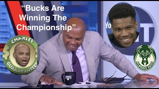 Charles Barkley Predicting The Bucks Championship #CharlesWasRight