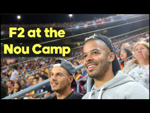 The F2 at the Camp Nou in BARCELONA!!!