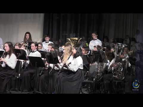 Leesville Road Middle School Honors Band performs The Brandenburg Gate on 3/18/2019