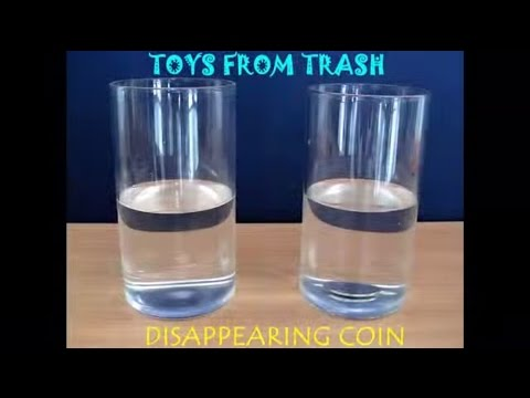 DISAPPEARING COIN - ENGLISH - Fun with light!
