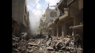 أخبار عربية - عشرات الضحايا جراء قصف جوي على مدينة عربين شرق #دمشق