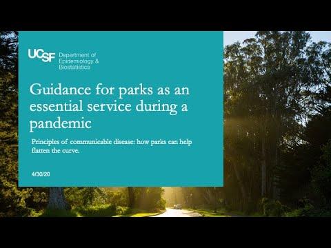 Guidance For Parks As An Essential Service During A Pandemic