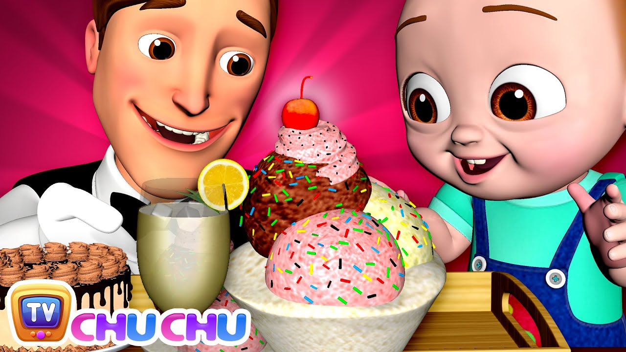 Restaurant at Home Song - ChuChu TV Baby Nursery Rhymes and Kids Songs