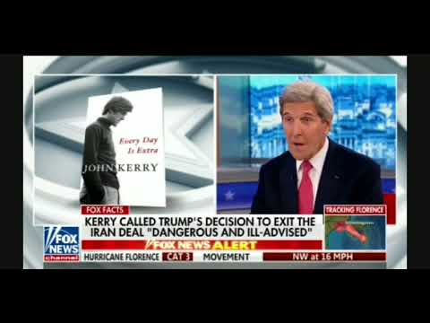 John Kerry: EU, Iran & Other Countries Are 'HANGING' On Until 2021 When Trump Isn't POTUS