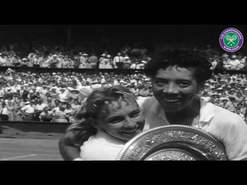 Althea Gibson Becomes First African-American To Win Wimbledon