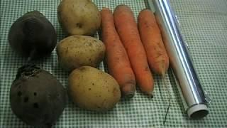 Как запечь овощи в духовке для винегрета, селедки под шубой, салата.