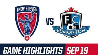 Highlights - Indy Eleven 0 : 2 Fc Edmonton - September 19, 2015
