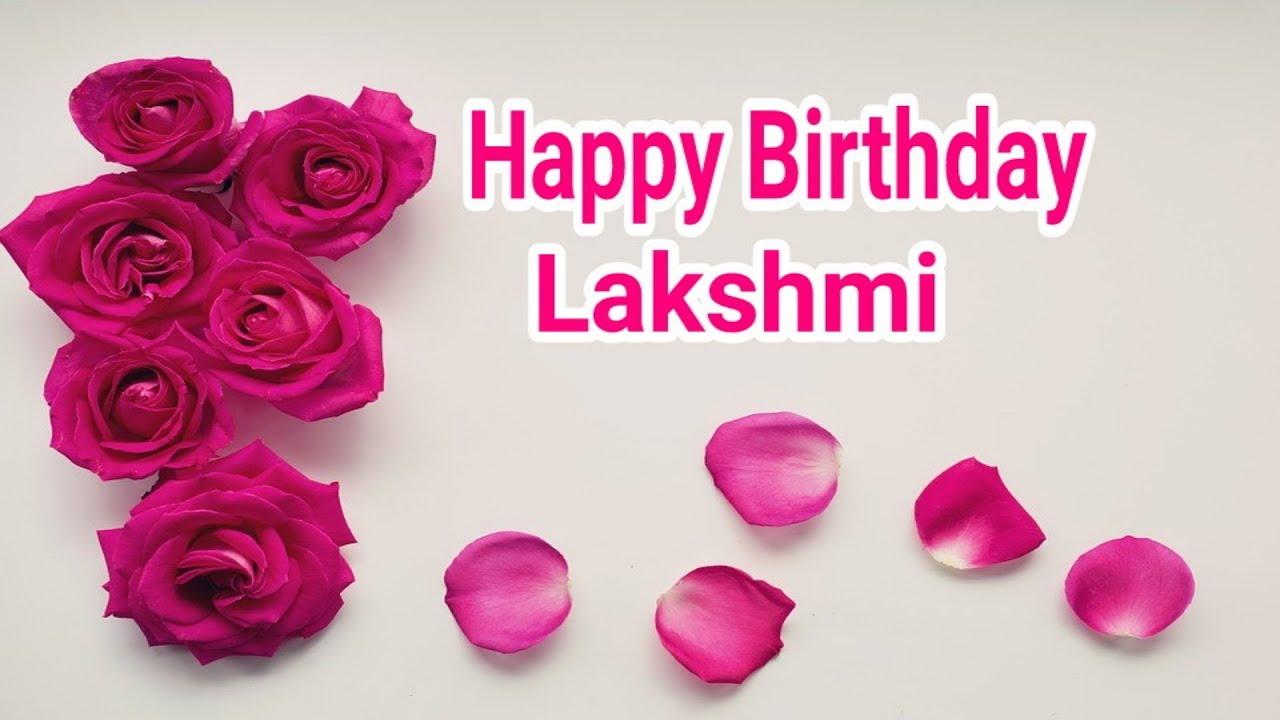Happy Birthday Lakshmi Youtube