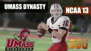 NCAA 13: U Mass Minutemen Dynasty - EP25 (Year 2, Car Care Bowl vs Michigan)