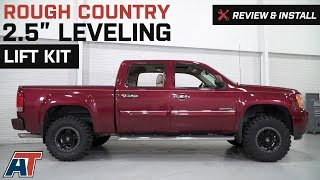 "2007-2018 Sierra Rough Country 2.5"" Leveling Lift Kit Review & Install"