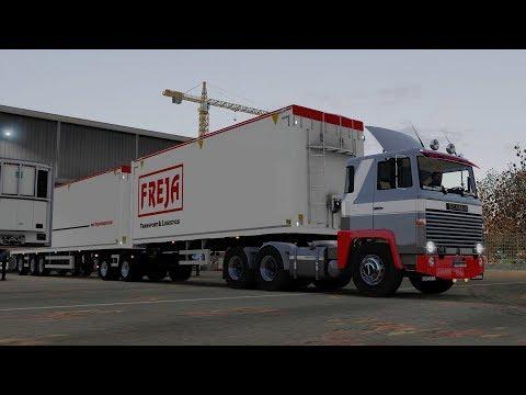 ETS2 1.28 ProMods 2.20 Scania 141 Stockholm - Bergen