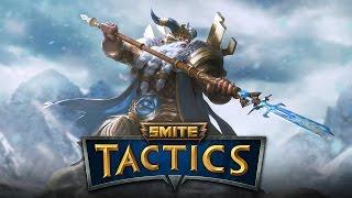 smite Tactics RU Русский 14 Гнев Северных Богов! (обзор колоды  несколько игр)