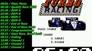 Nes Al Unser Jr  Turbo Racing Soundtrack